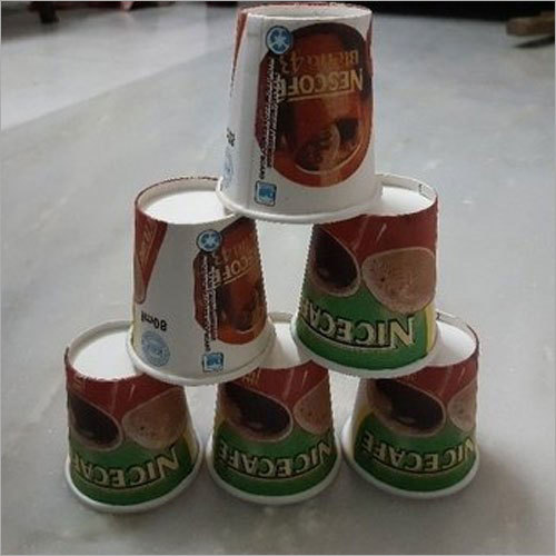 80 Ml Printed Disposable Paper Cup