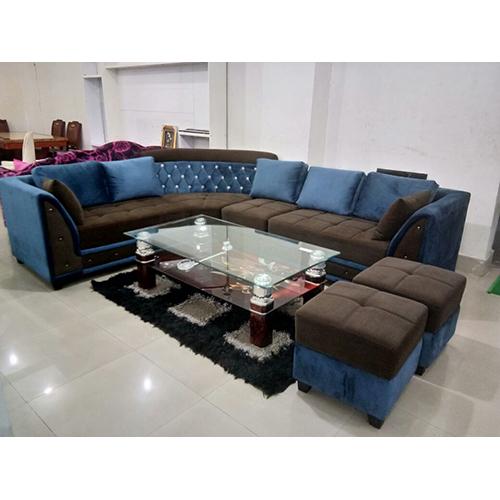 Drawing Room L Shaped Sofa Set