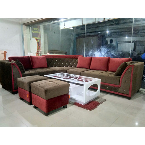 Office L Shaped Sofa Set