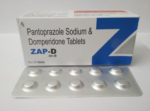Pantoprazole 40mg + Domperidone 10 mg Tablet