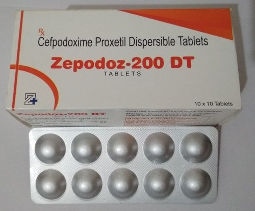 Cefpodoxime Proxetil 200mg Dispersible Tablet