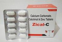 Calcitrial Calcium Carbonate Zinc Tablet