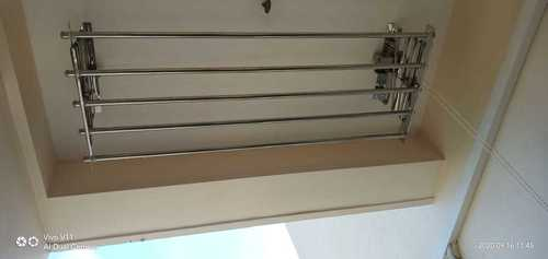 Ss Ceiling Mounting Cloth Drying  Hangers In  Tiruchirappally