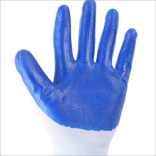 Nylon and Nitrile Latex Glove
