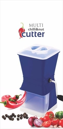 Plastic Multi Chilly And Nut Cutter