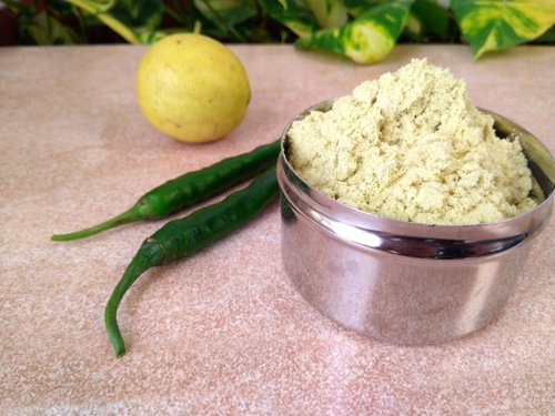 Green Chilly Lemon Seasoning