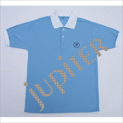 Kids Plain Collar T Shirt