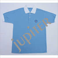 Kids Plain Collar T Shirt
