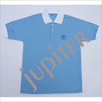 Plain Collar T Shirt