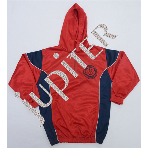 Kids Hooded Track Suit Upper