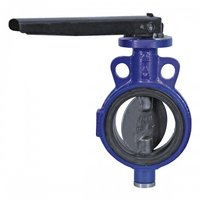 C.c.s. Butterfly Valve Wafer Type, Class-125