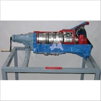 Automatic Gearbox Actual Cut Section