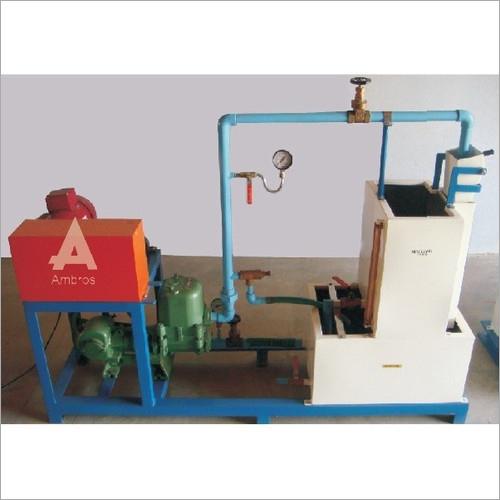 Reciprocating Pump Test Setup