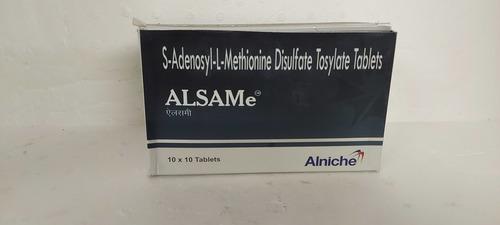 Alsame - S-adenosyl- L- Methionine Disulfate Tosylate Tablets