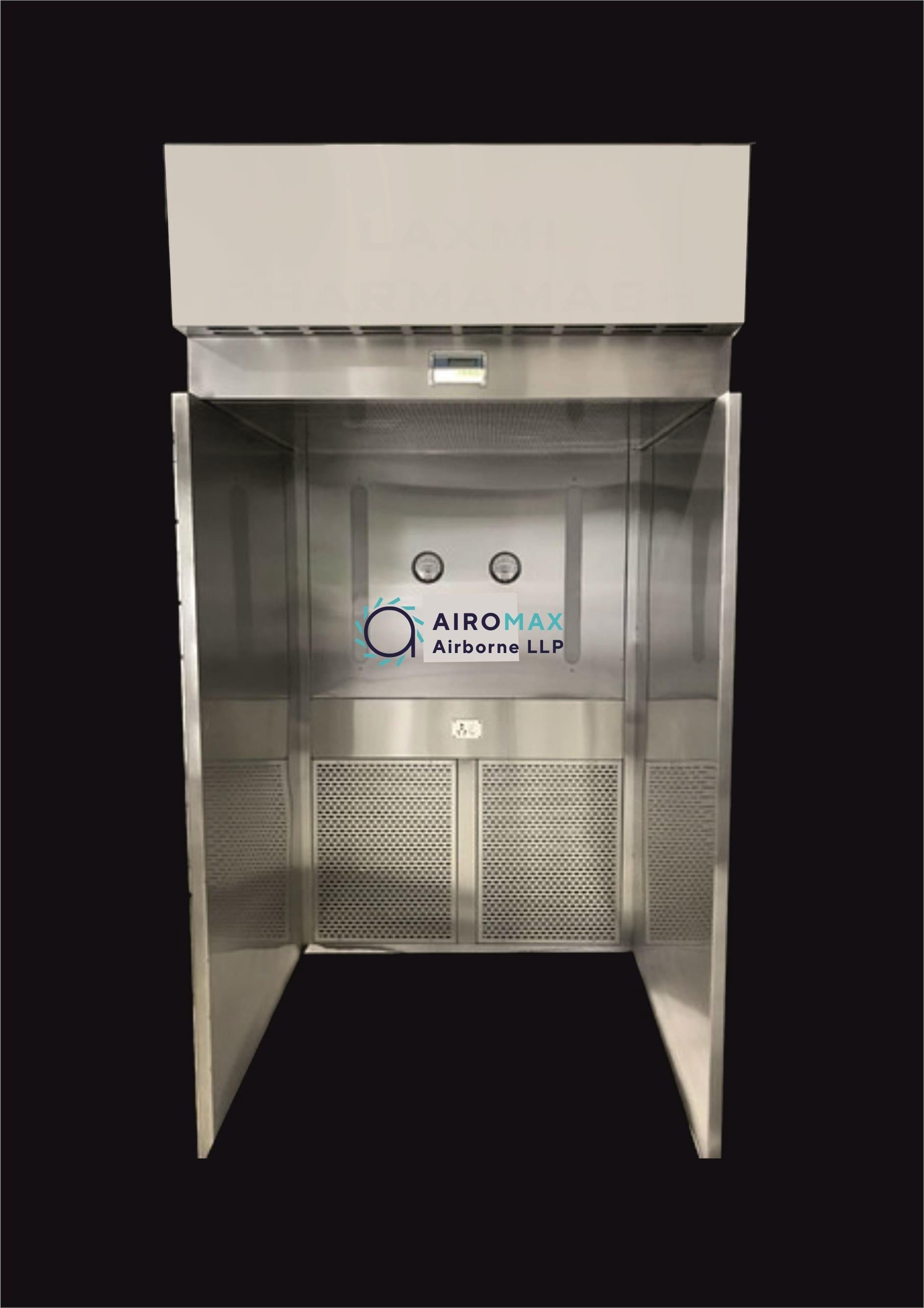 Sampling and Dispensing Booth (Reverse Laminar Air Flow Unit - RLAF)