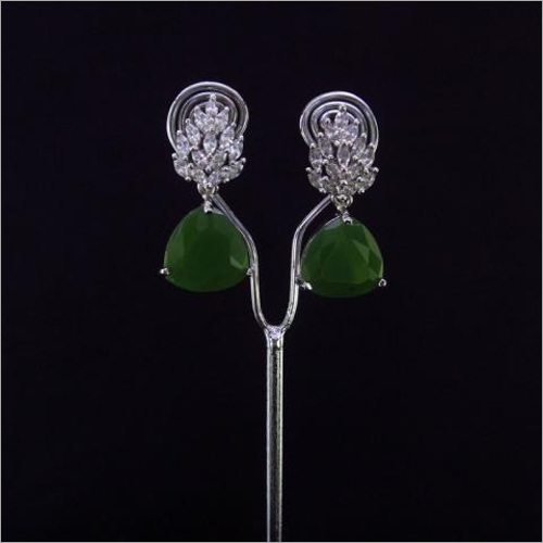 Ladies CZ Studs Earrings