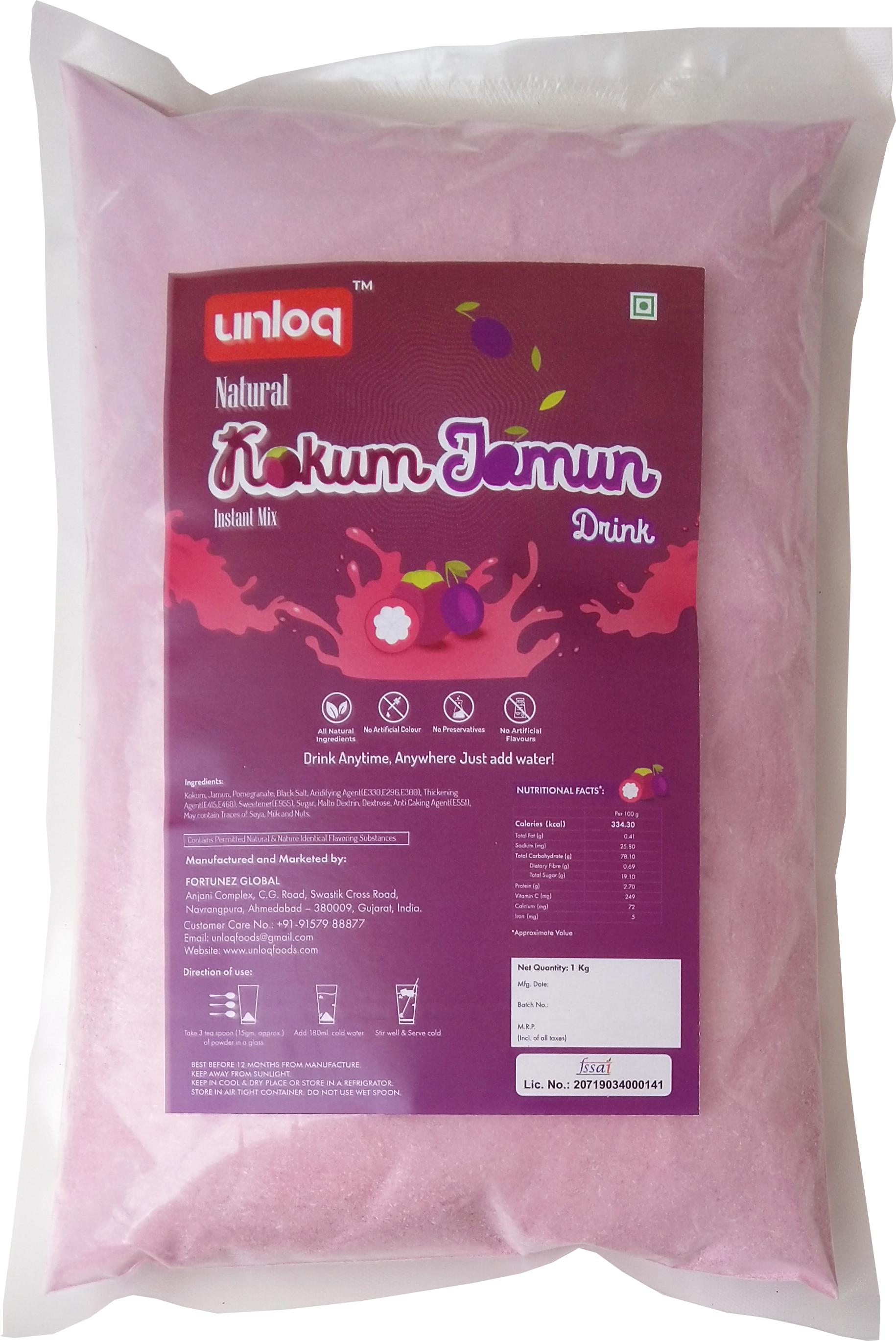 Instant Kokum Jamun Premix Powder