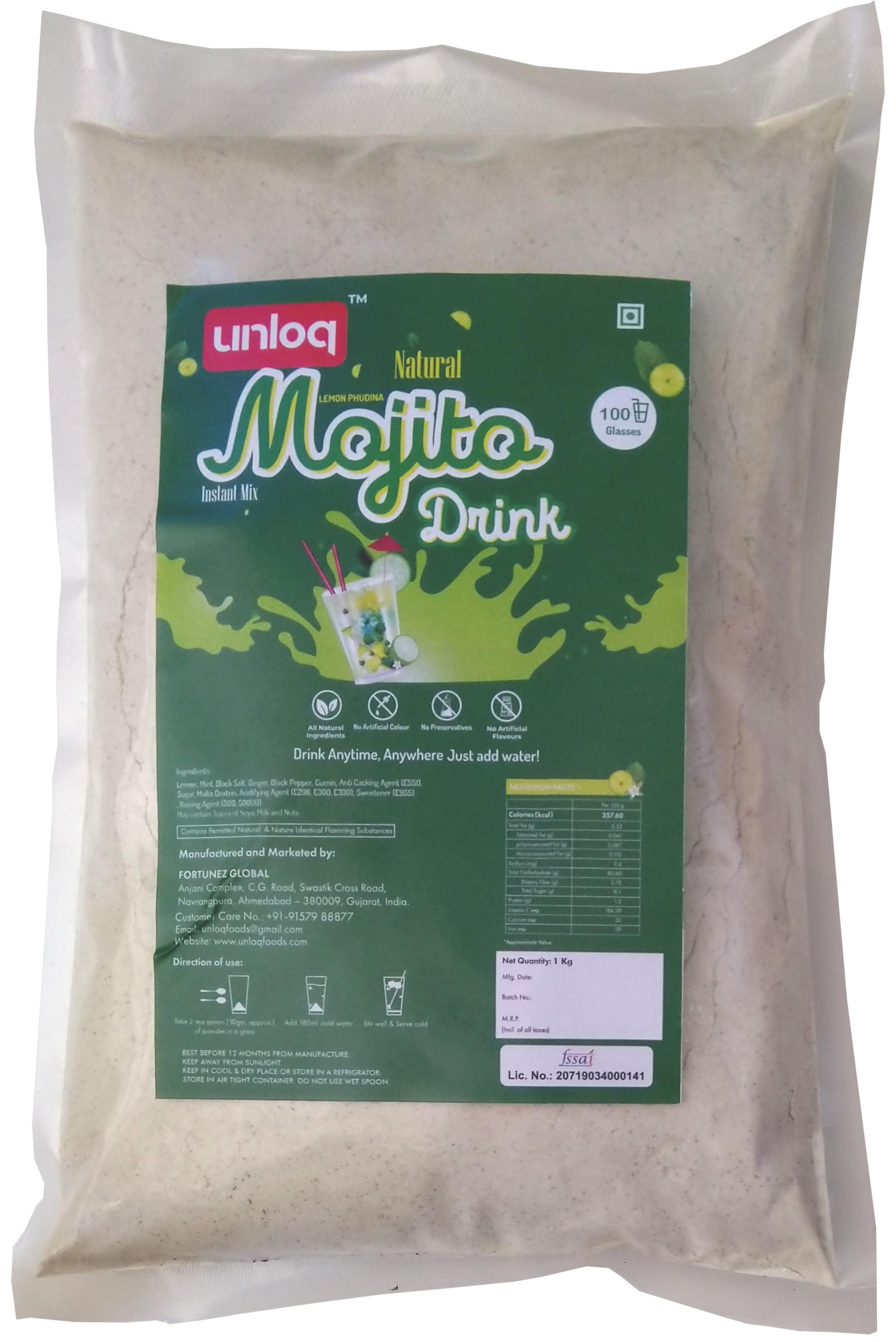 Instant Mojito Premix Powder