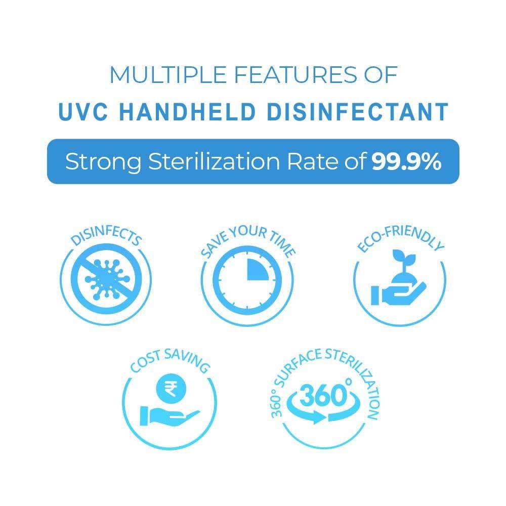 UVC Hand Held Disinfectant