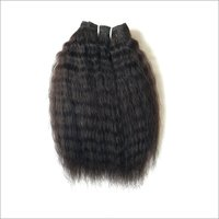 Kinky Straight Human Hair