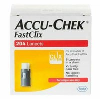 Accu-Chek FastClix (200+4 Lancets)