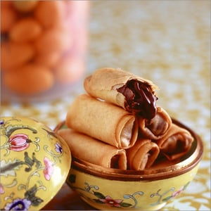 Chocolate Spring Roll