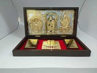 Metal Balaji God Frame