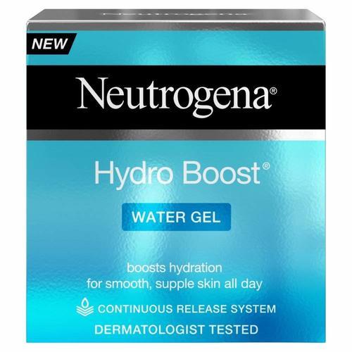 Neutrogena Hydro Boost Moisturiser, Smoothing Gel and Cleanser Trio Set 50ml
