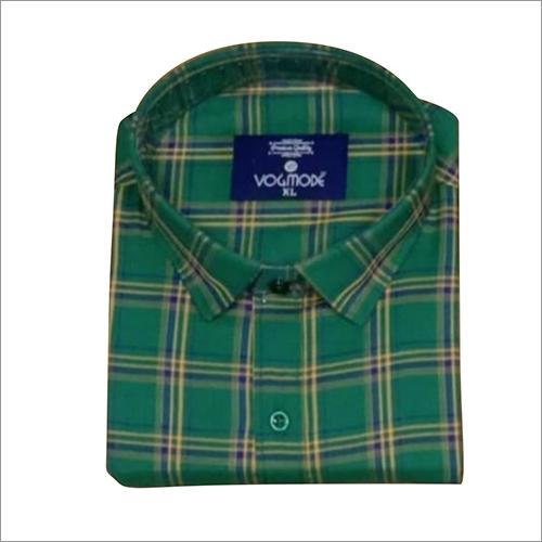 Mens Cotton Checked Shirts