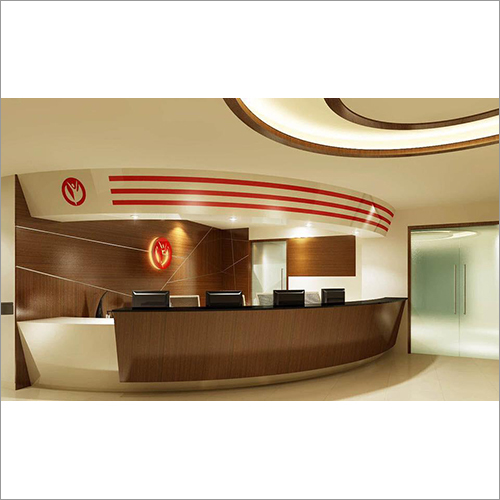 Office Reception Interior Designing Services