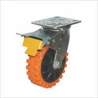 MSI Series - Swivel With Brake Castor Wheels