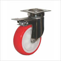 L TTB Series -   Swivel With Brake Castor Wheels