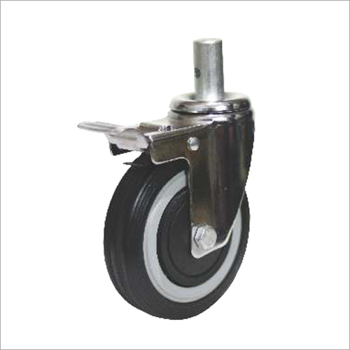 RX Medi Series  Zinc Plate Castor Wheels