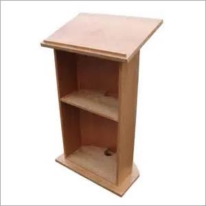 Wooden Podium Lecture Desk