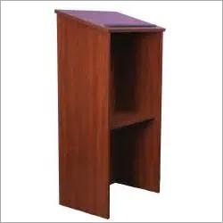 Wooden Podium Desk