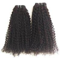 Peruvian Steam Curly Hair, Cuticle Aligned Single Donor Hair