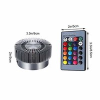 3W Sunflower Decorative Wall Lamp Led with Remote - Multicolour RGB