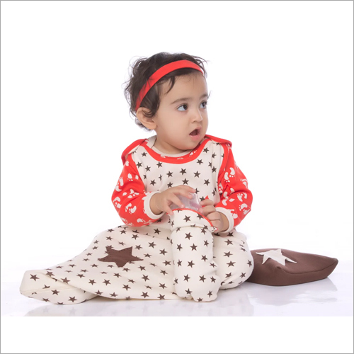 Organic Cotton Baby Printed Romper