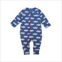 Organic Cotton Baby Printed Rompers