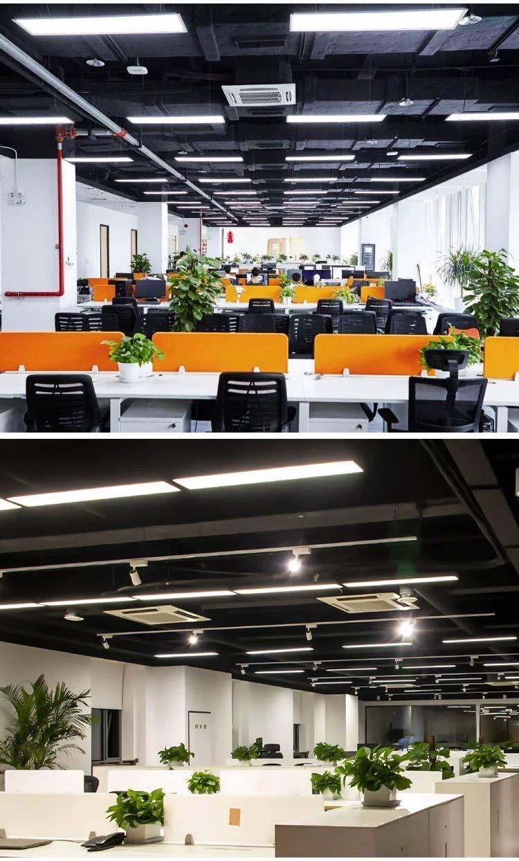 48W Office Led Pendant Hanging Lamp (White) (120 * 20 * 5 cm)