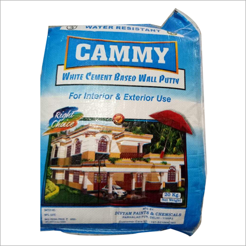 Cammy (White Cement Based Wall Putty) 20kg