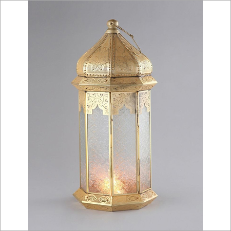 Cabdle Lantern Brass