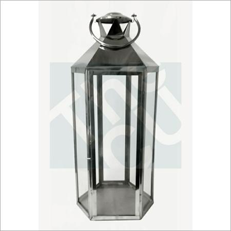 Black Metal Candle Lantern