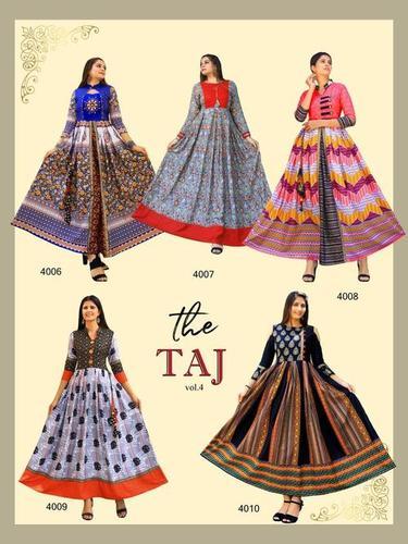 Taj Vol-4 Cotton Kurti Set