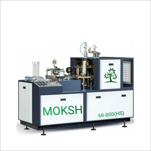 High Speed Open Cam Direct Bottom Paper Cup Making Machine