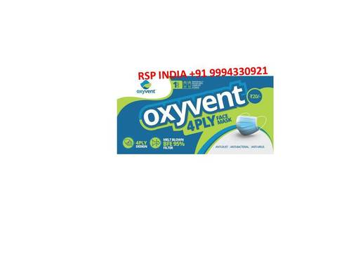 Oxyvent 4ply Facemask