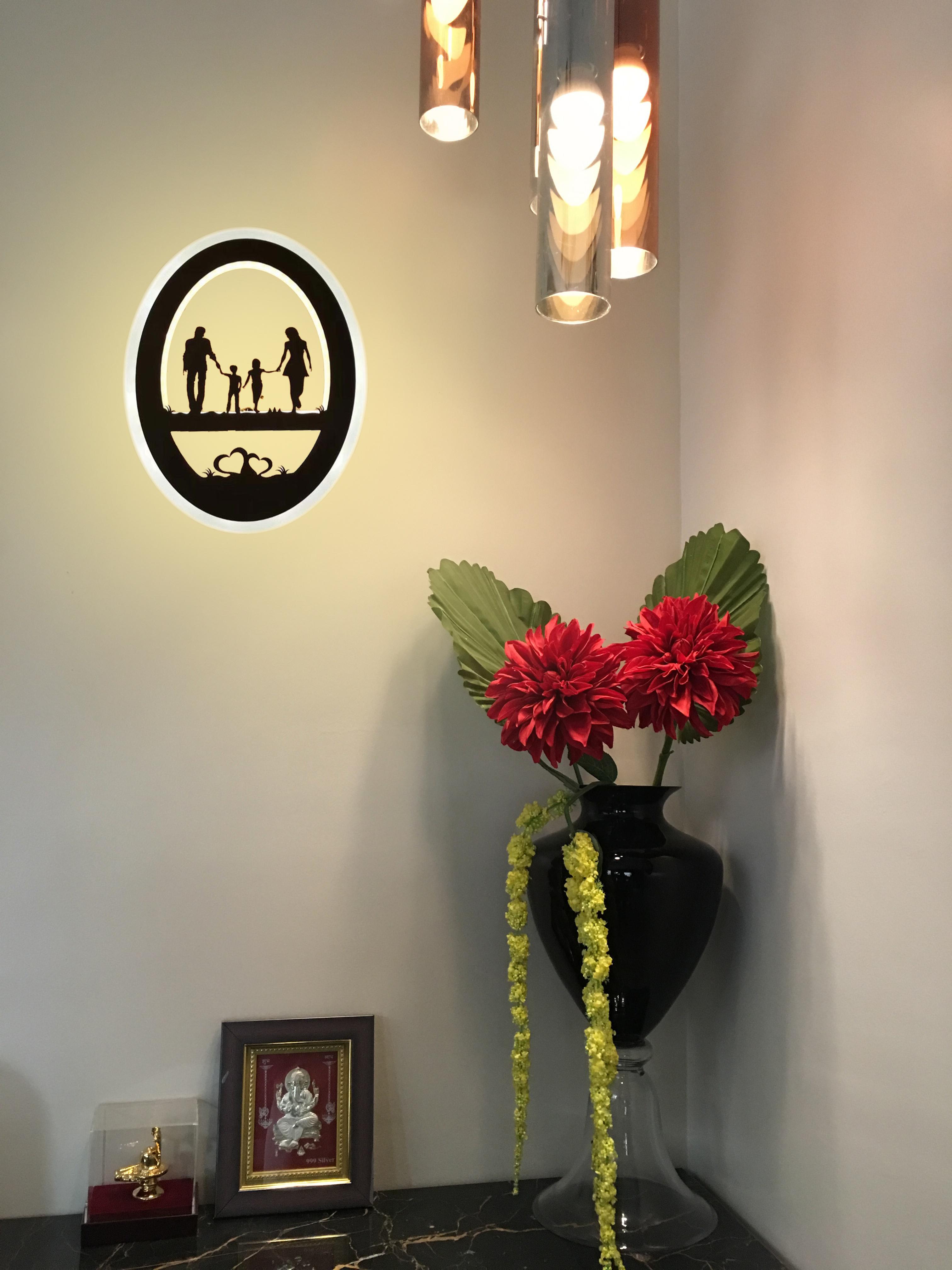 23 W Wall Led Lamp Family (Warm White + White)