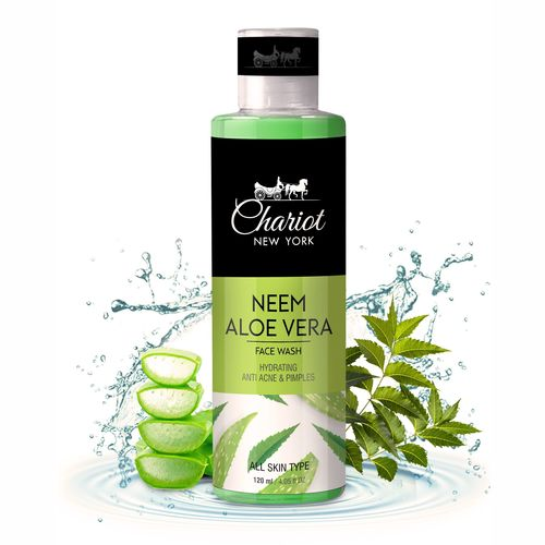 Chariot New York Neem And  Aloe Vera Face wash