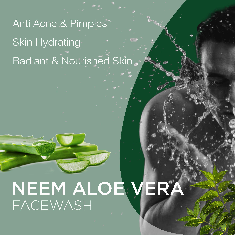 Chariot New York Neem And  Aloe Vera Face wash