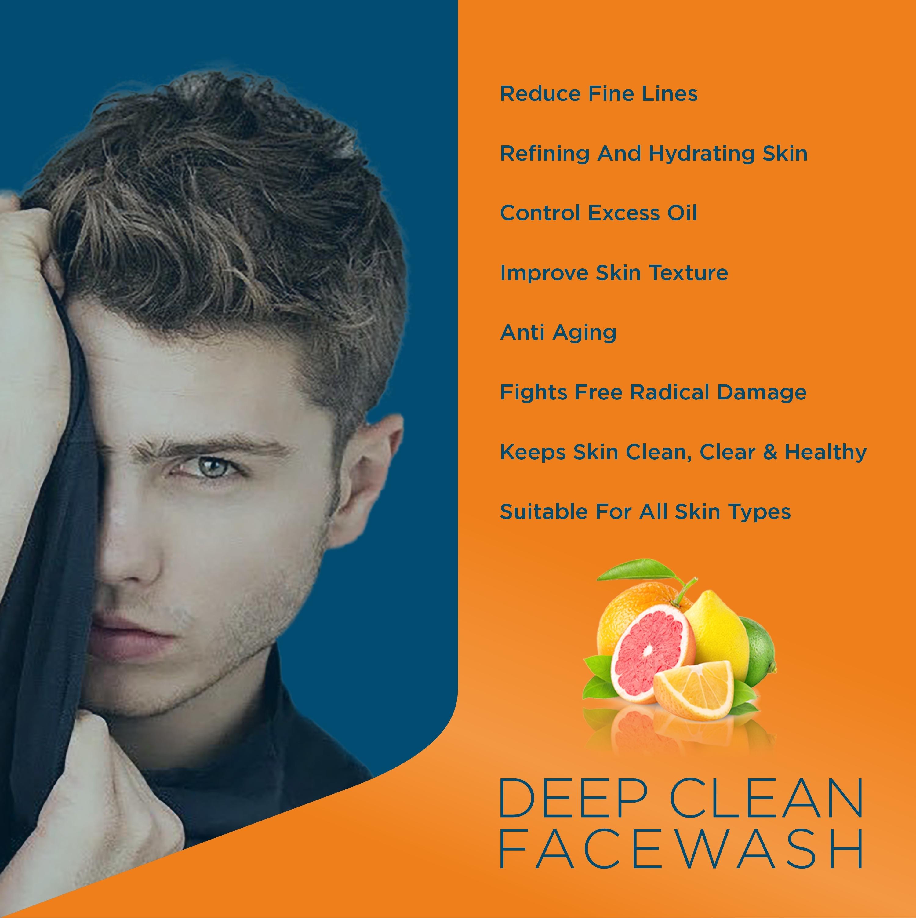 Deep clean Vitamin C Face Wash